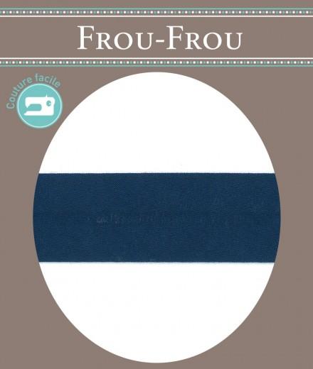Frou-Frou nastro termoadesivo per sbieco blu