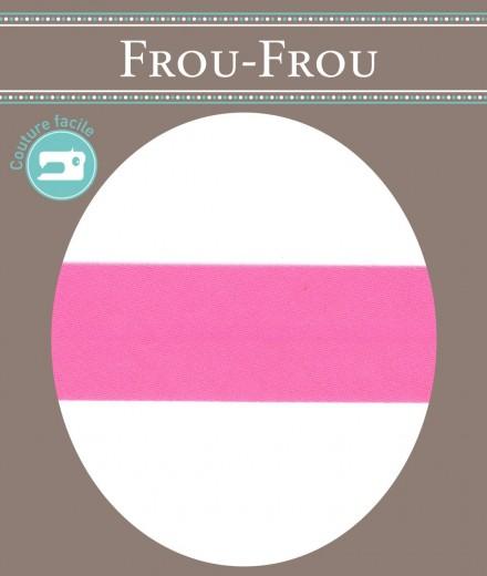 Frou-Frou nastro in cotone per sbieco fuxia