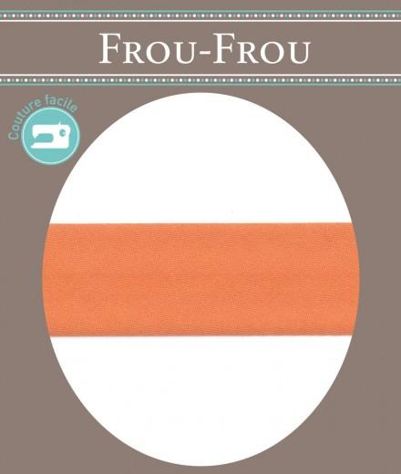 Frou-Frou nastro in cotone per sbieco giallo scuro