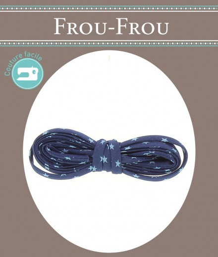 frou frou spaguetti 2m blu
