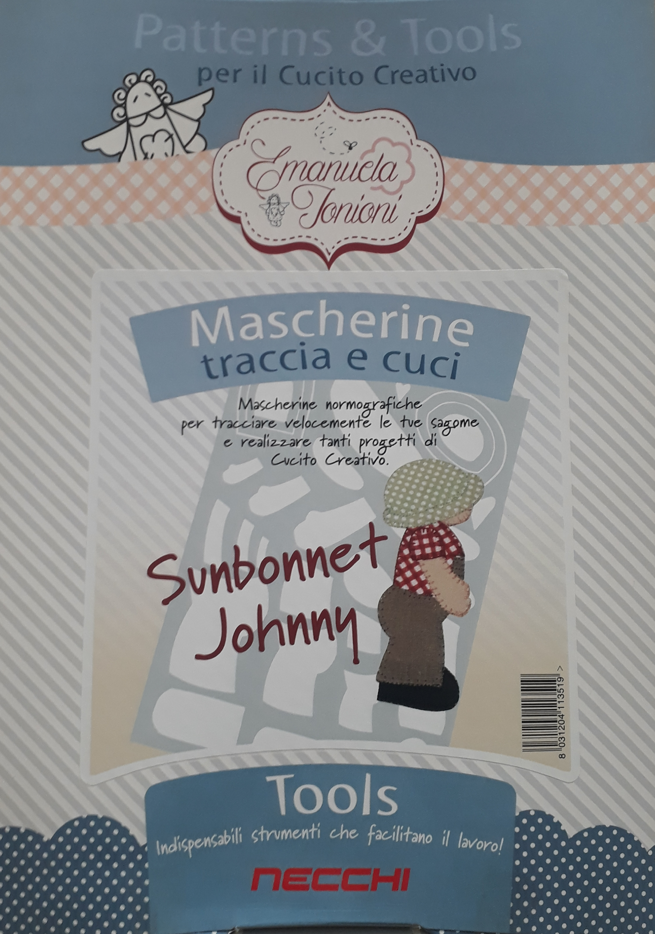 mascherina sunbonnet johnny