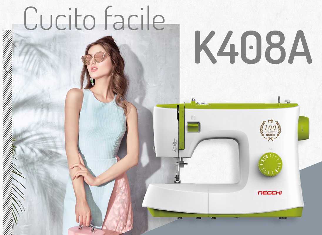 Necchi K408A facile