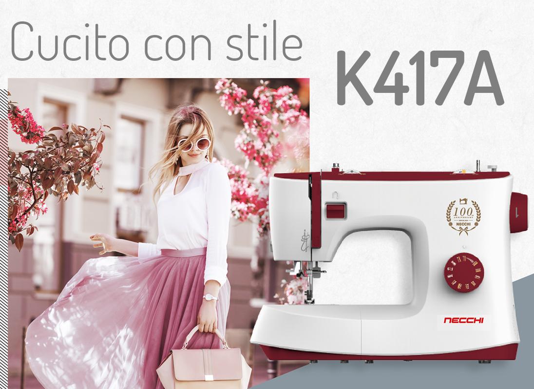 Necchi K417A stile