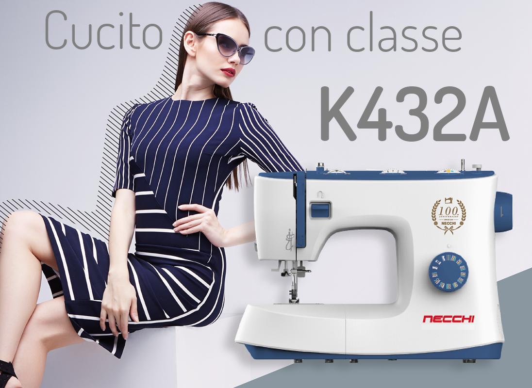 Necchi K432A classe