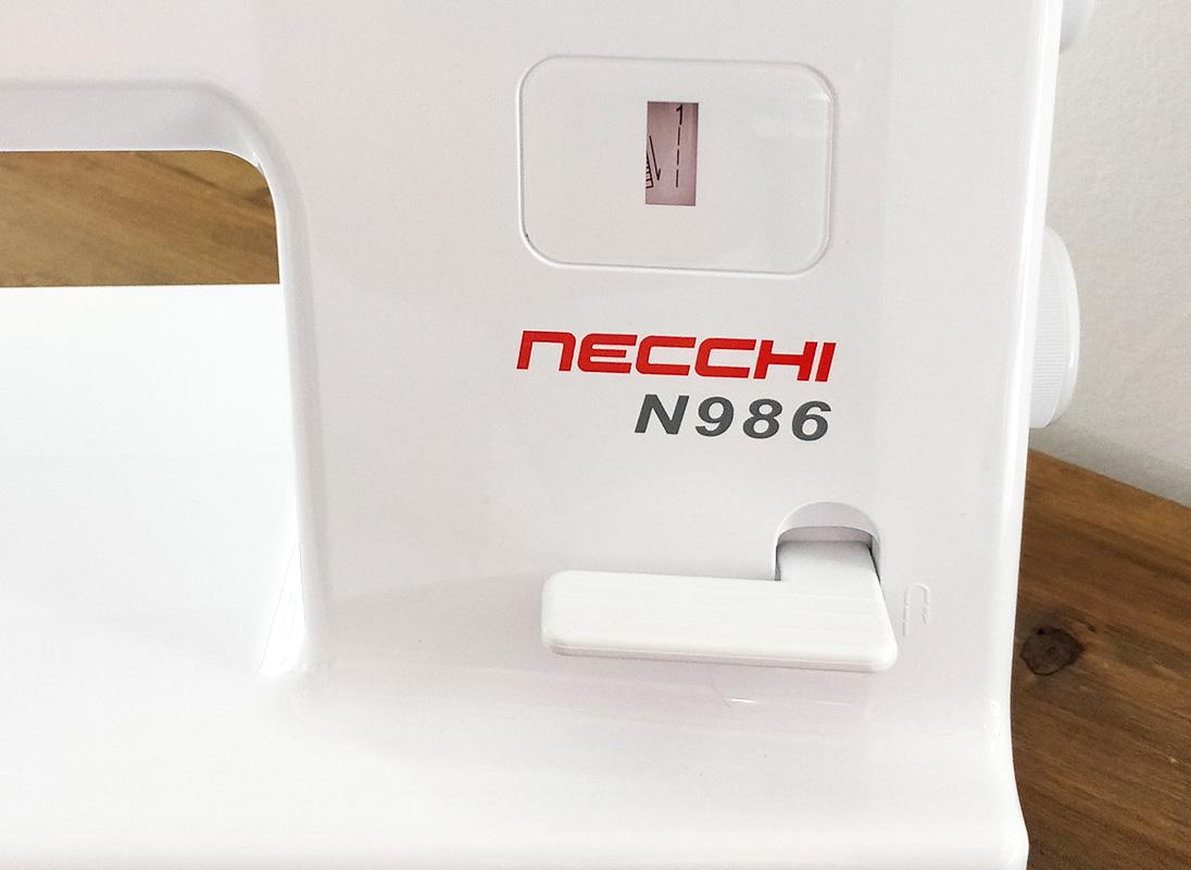 Necchi N986 leva ritorno