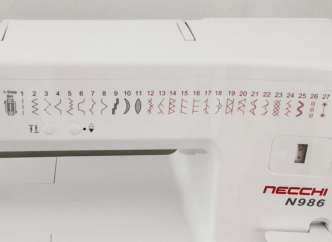Necchi N986 punti
