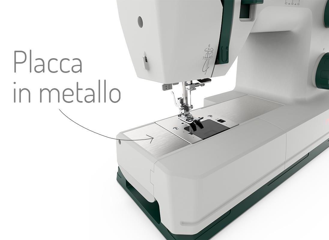 Necchi Q421A placca metallo