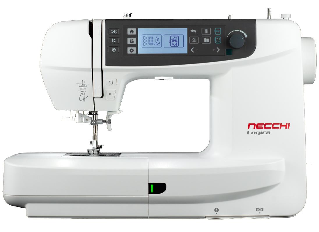Necchi Macchina Elettronica con funzione ricamo Logica NCH01ax