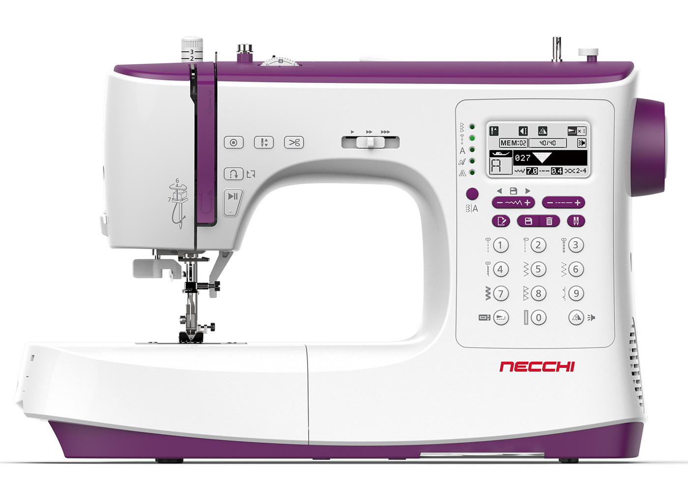 Necchi NC-204D L'elettronica completa
