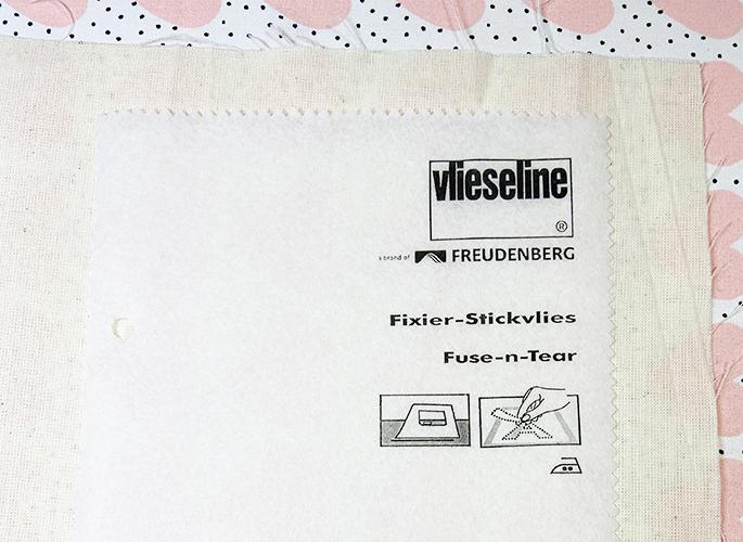 Necchi Freudenberg FIXIER-STICKVLIES