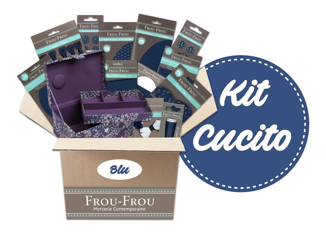 Necchi kit cucito blu