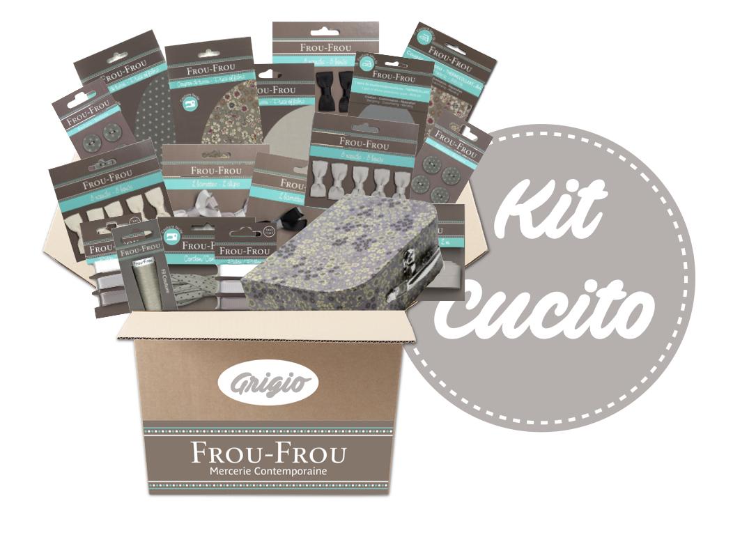 Necchi kit cucito grigio