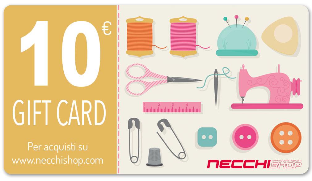 Necchi gift card 10
