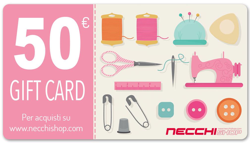 Necchi gift card 50