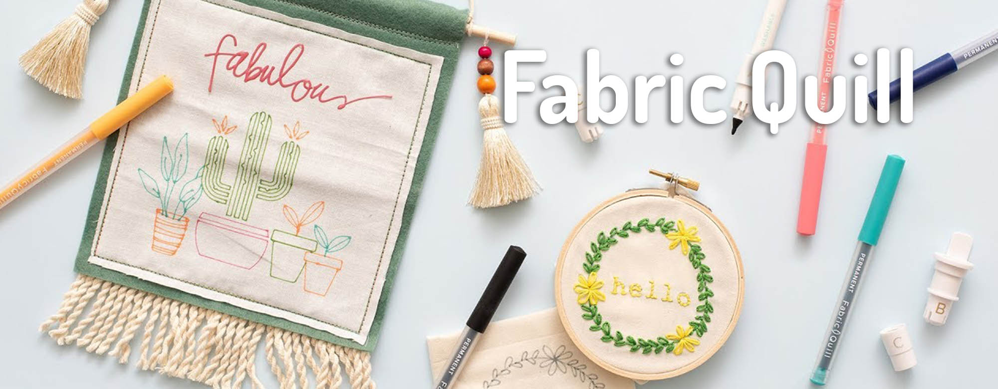 Fabric Quill We R