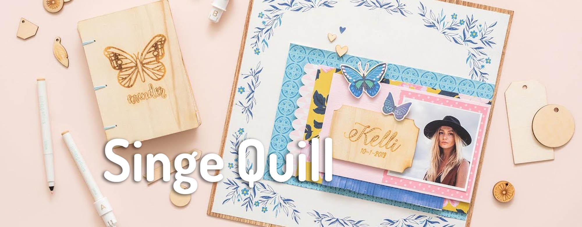 singe quill we R