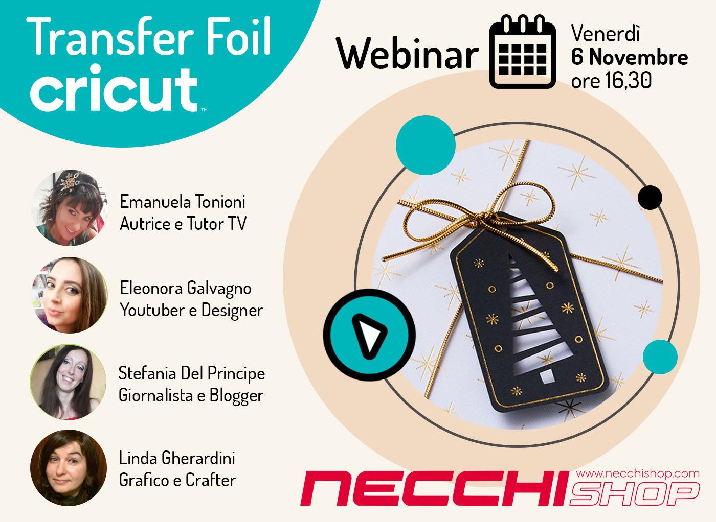 Webinar Transfer Foil