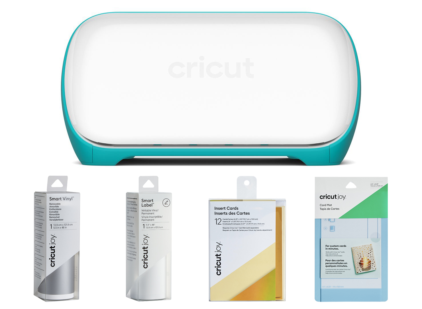 Cricut Joy Starter Kit Materiali